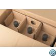 3 palackos doboz