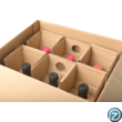 borszállító doboz 6 palacknak