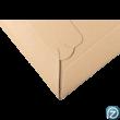 újrahasznosított papír boríték