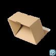 Csomagküldő doboz nyitva