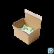 Posta doboz térkitöltővel