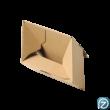 Csomagküldő doboz alulról