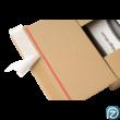 Zárószalaggal ellátott posta doboz