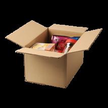 Háromrétegű tetőfenék-lapolt doboz