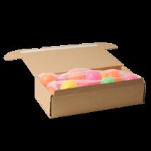 Barna hajtogatható doboz