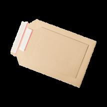 Karton boríték újrahasznosított anyagból A5