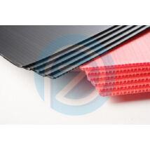 Kartonplast lemez UV fekete 830x630mm