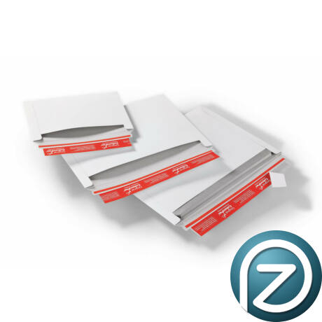 fehér karton boríték
