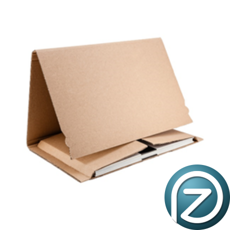 Könyv és képcsomagoló doboz