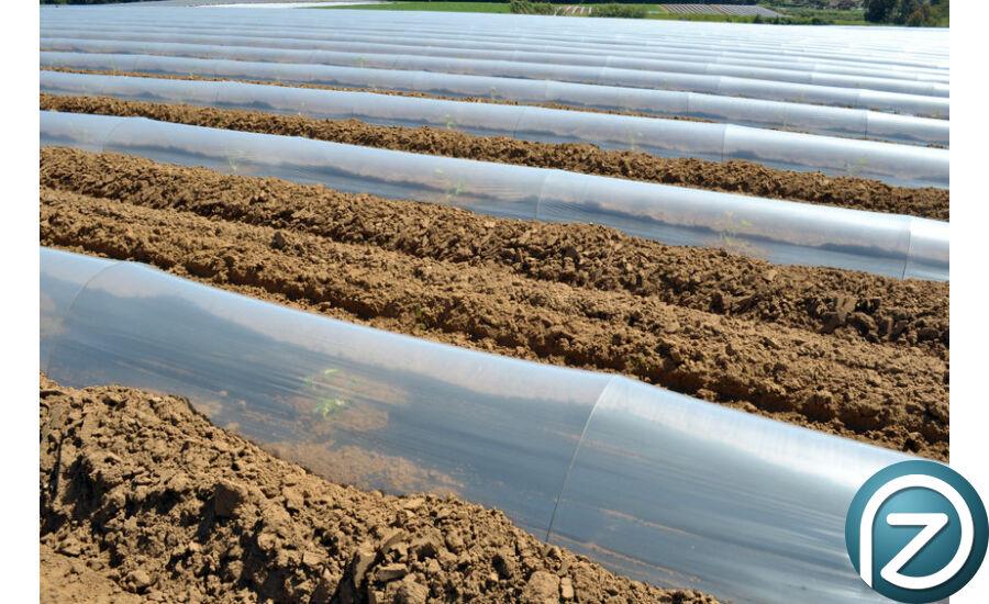Mezőgazdasági fólia 12x60mx0,15mm transzparens méterben UV álló